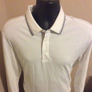 UNTUCKit Pima cotton Polo Shirt sz Large